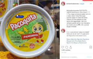Imagem ilustrativa de potinho de paçoquita sabor pamonha